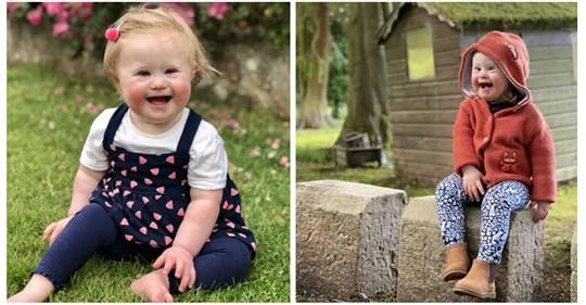 Солнечный лучик: 2-летняя девочка с синдромом Дауна стала лицом модного бренда