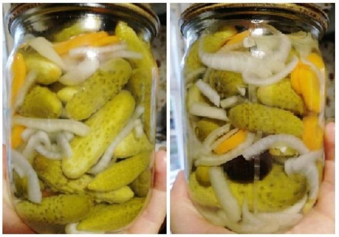 Закрываю огурцы с болгарским перцем и маслинами: уже лет 10 не изменяю этому рецепту