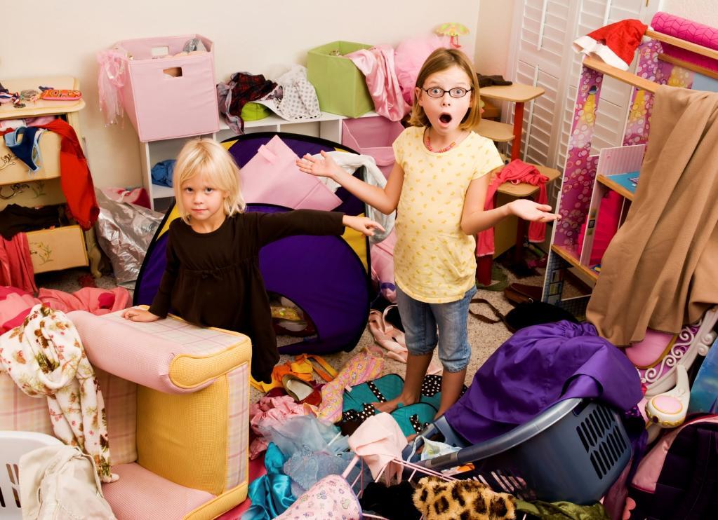 Приемлемый уровень беспорядка: чистота и дети не идут рука об руку, и родителям приходится работать над этим вопросом