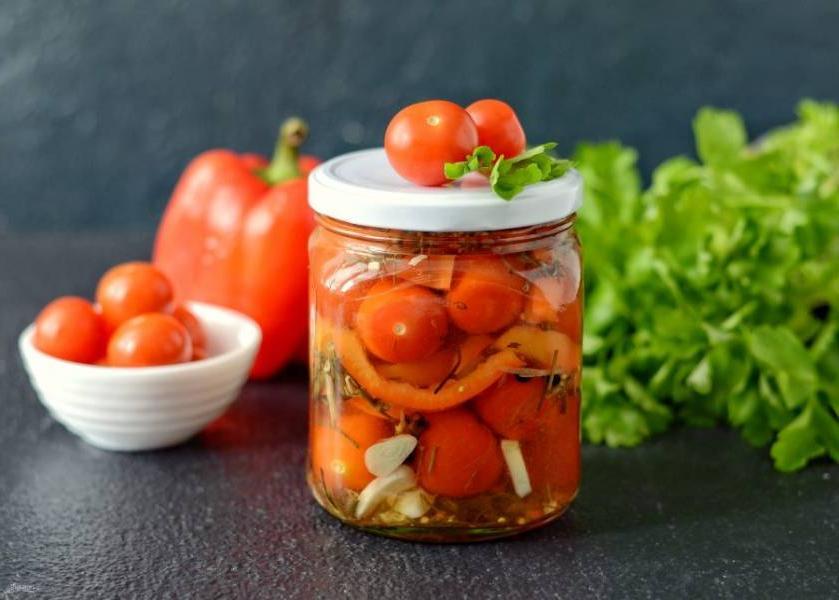 Вкусные и быстрые в приготовлении помидоры без кожицы. Таких вы еще не пробовали