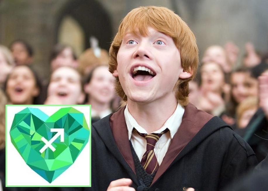 Рон Уизли был бы очарован Стрельцом: кто из Гарри Поттера влюбился бы в вас, судя по знаку зодиака