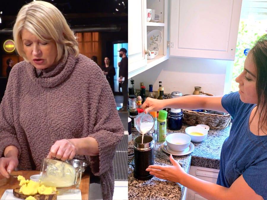 Известная телеведущая Марта Стюарт делает болтунью в кофеварке: я решила приготовить яйца по ее рецепту (фото)