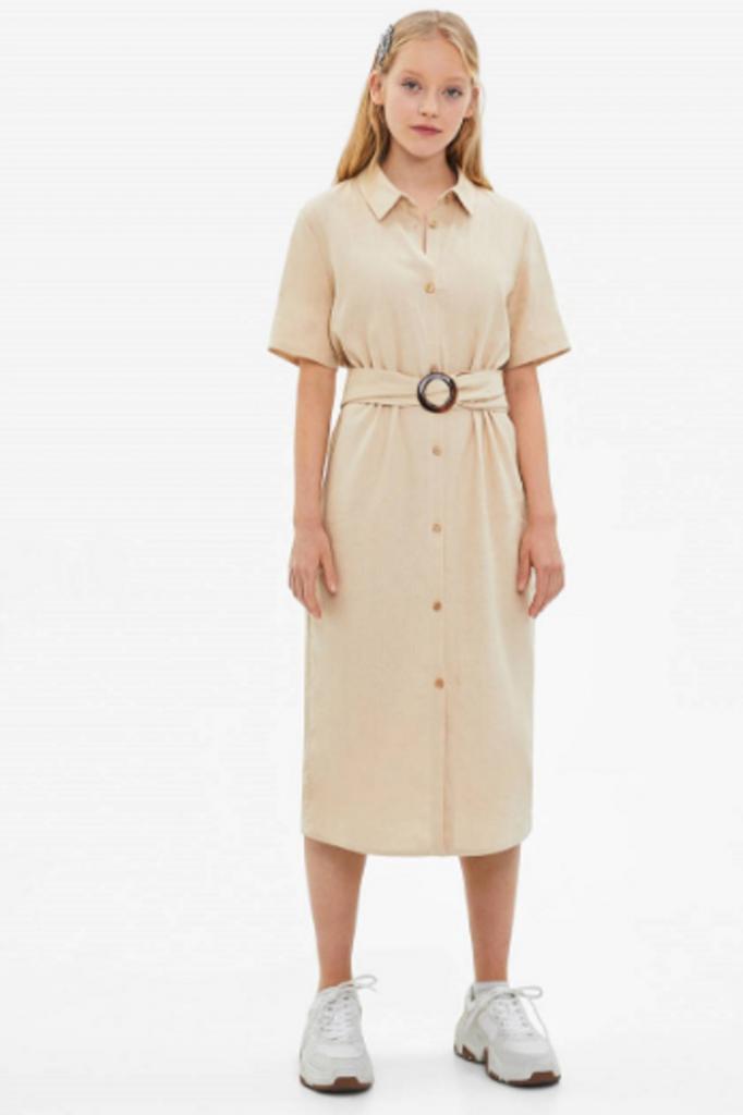 Мне понравилось в полоску. Новый тренд в мире моды — удлиненные рубашки-платья (фото)