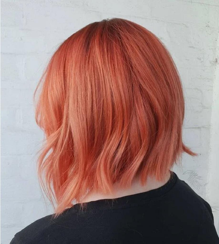 В тренде медно-персиковый цвет: идеальный баланс для рыжеволосых девушек