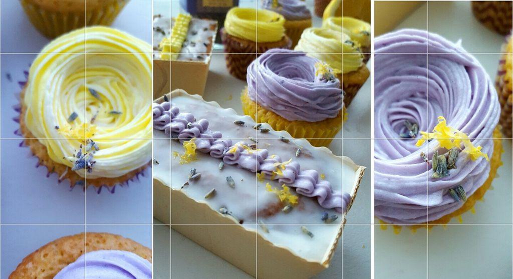 Потрясающее сочетание цветов и вкусов: на десерт приготовила лимонно-лавандовые кексики