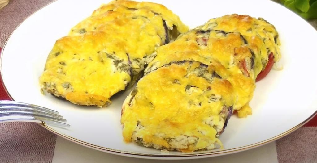 Запеченные овощи со сливками и сыром   идеальная летняя еда. Можно подать как гарнир или как основное блюдо