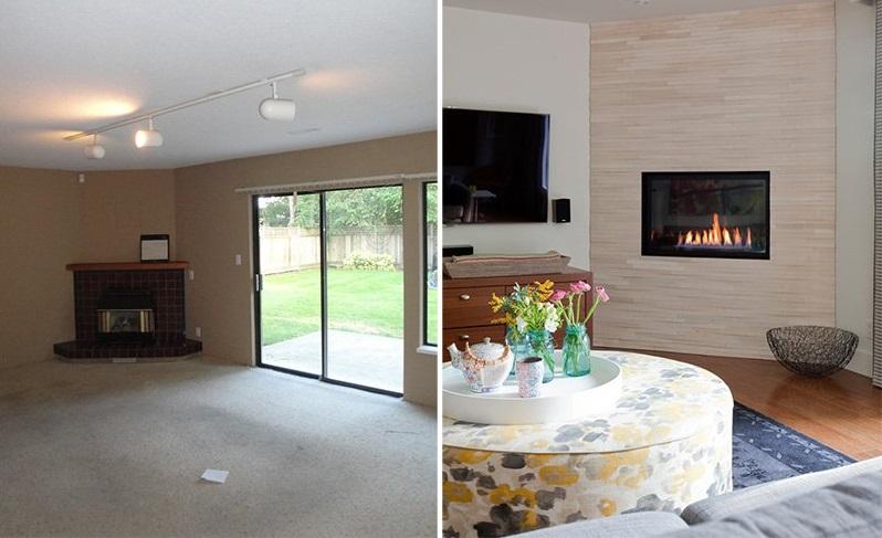 Владельцы хотели добавить красок скучному зданию 1980-х годов, поэтому обратились к дизайнерам: фото до и после