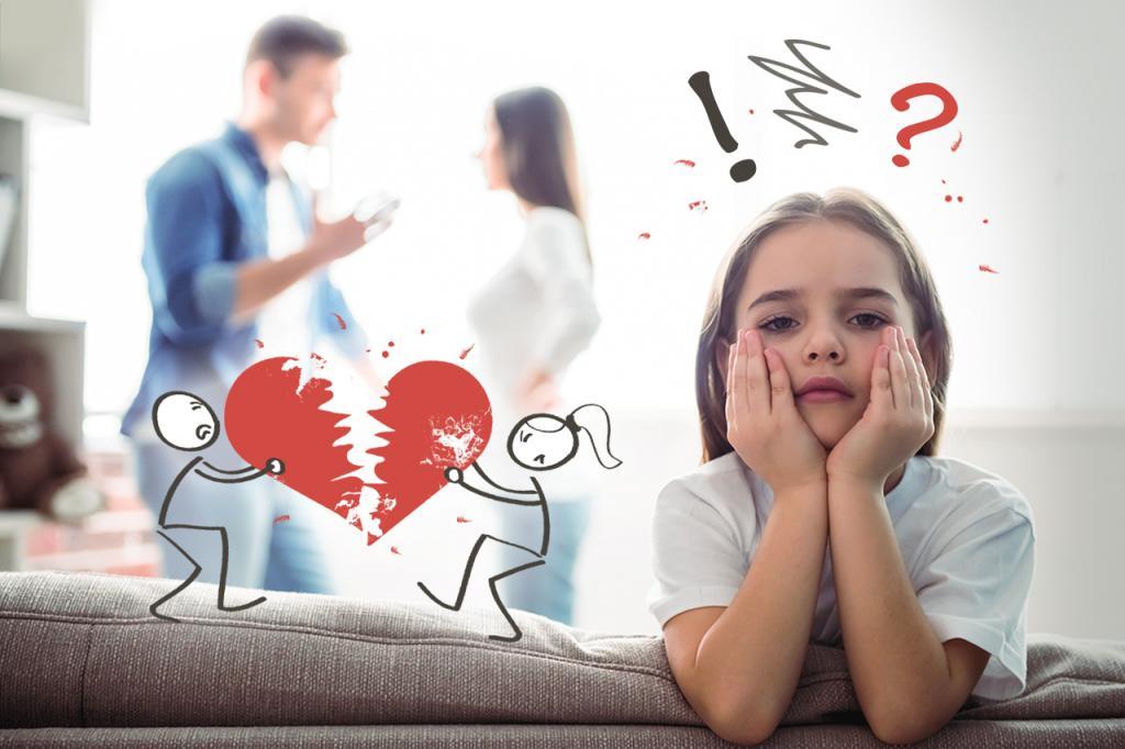 Будьте терпеливы к изменчивому настроению: как помочь ребенку пережить развод родителей