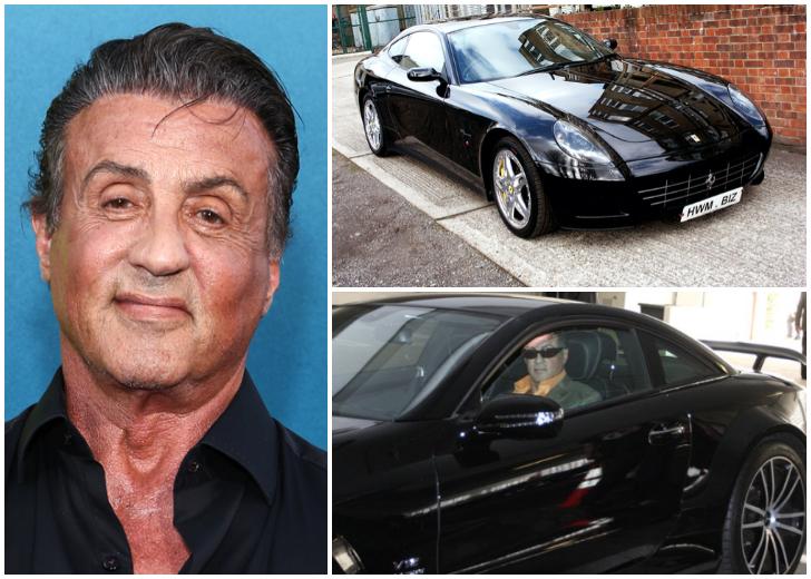 Личное авто Сильвестра Сталлоне и других знаменитых мужчин Голливуда