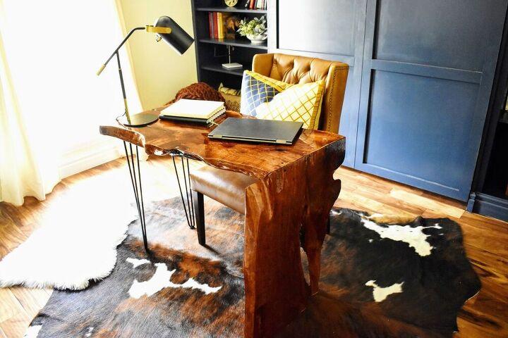 «Деревянный водопад»: мне потребовалось 5 дней, чтобы сделать этот офисный стол, но результат того стоил