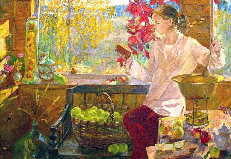 8 августа, в Ермолаев день, хозяйки на Руси ни в коем случае не шили, но зато готовили первый в году