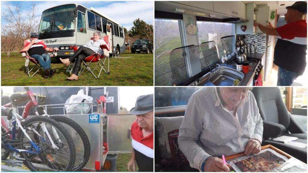 Жизнь на колесах: пенсионеры продали свое жилище и купили автобус, переоборудованный в автодом