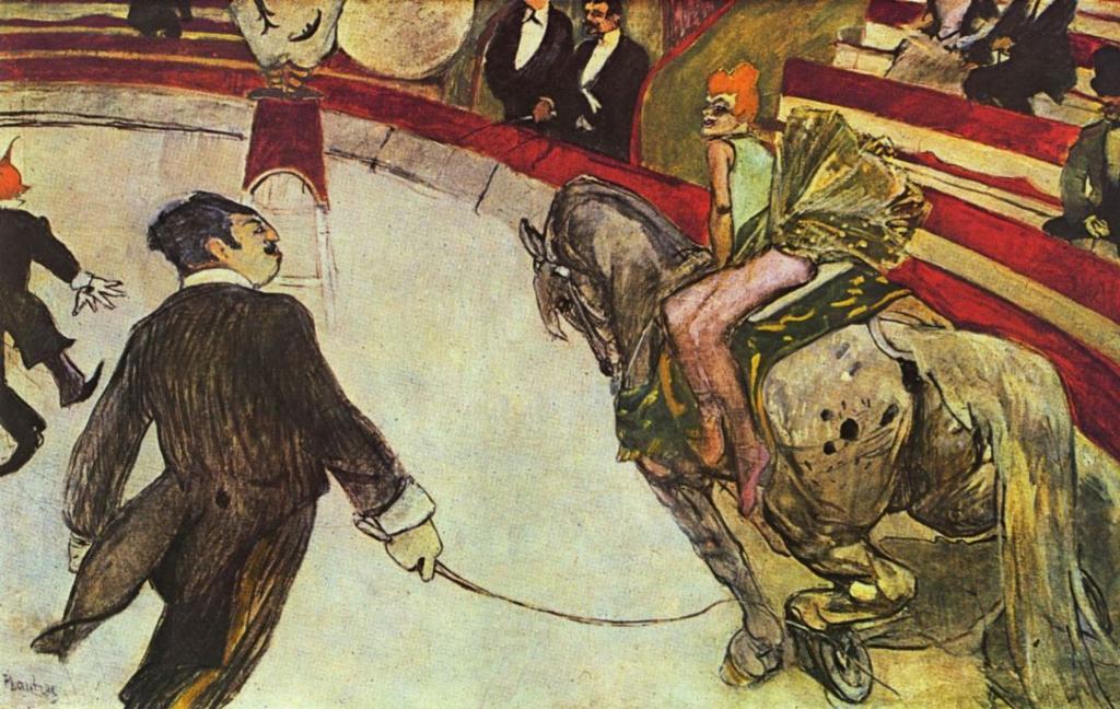 Один на один с цирком: уникальная уличная выставка работ Анри де Тулуз-Лотрека откроется возле Цирка на Фонтанке