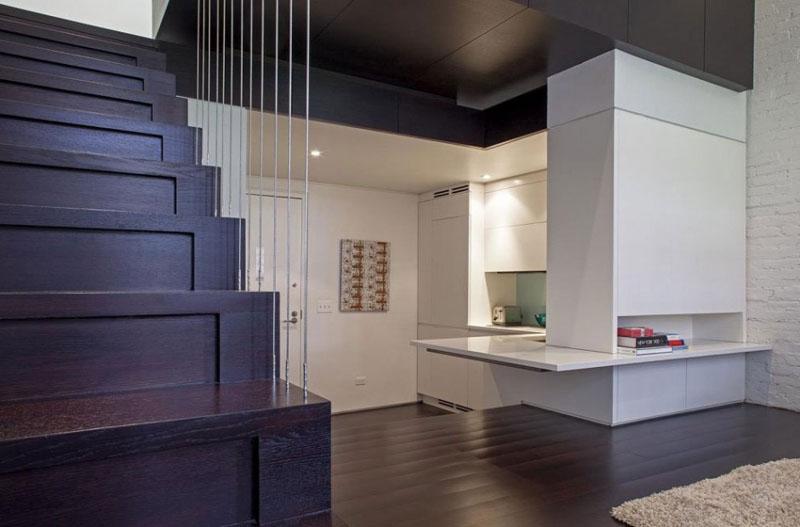 Всего 40 кв.м., а квартира выглядит как пентхаус: ремонт в небольшом доме (фото)