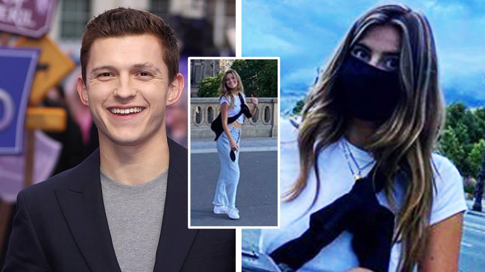 Человек-паук впервые выложил в Instagram фото возлюбленной. Несмотря на закрытое лицо платком, поклонники узнали в девушке красавицу Надю Паркес