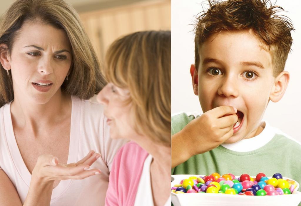 Все правильно сделала! Женщина уволила няню своего сына за то, что та вопреки запрету накормила ребенка конфетами