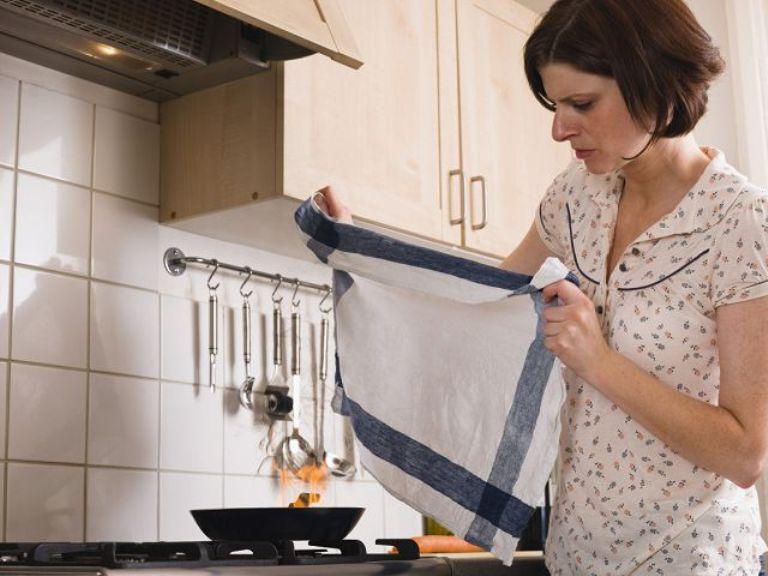 Как отстирать кухонные полотенца от жира и старых пятен? Мне помогает горчичный порошок и не только