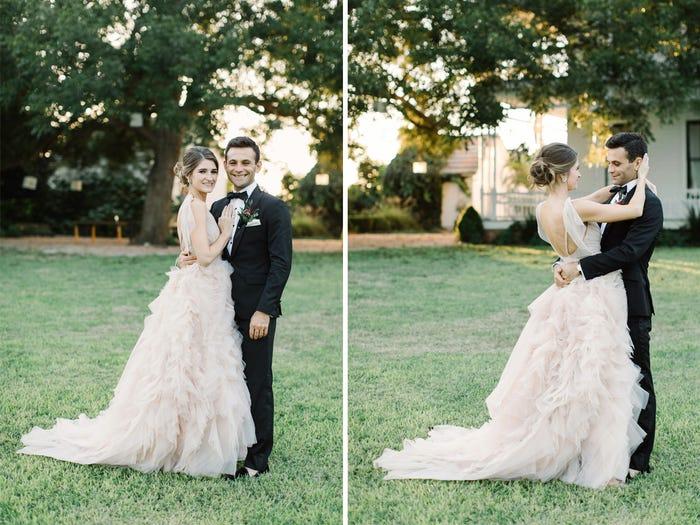 Невеста показала 8 платьев, которые померила, прежде чем найти то самое