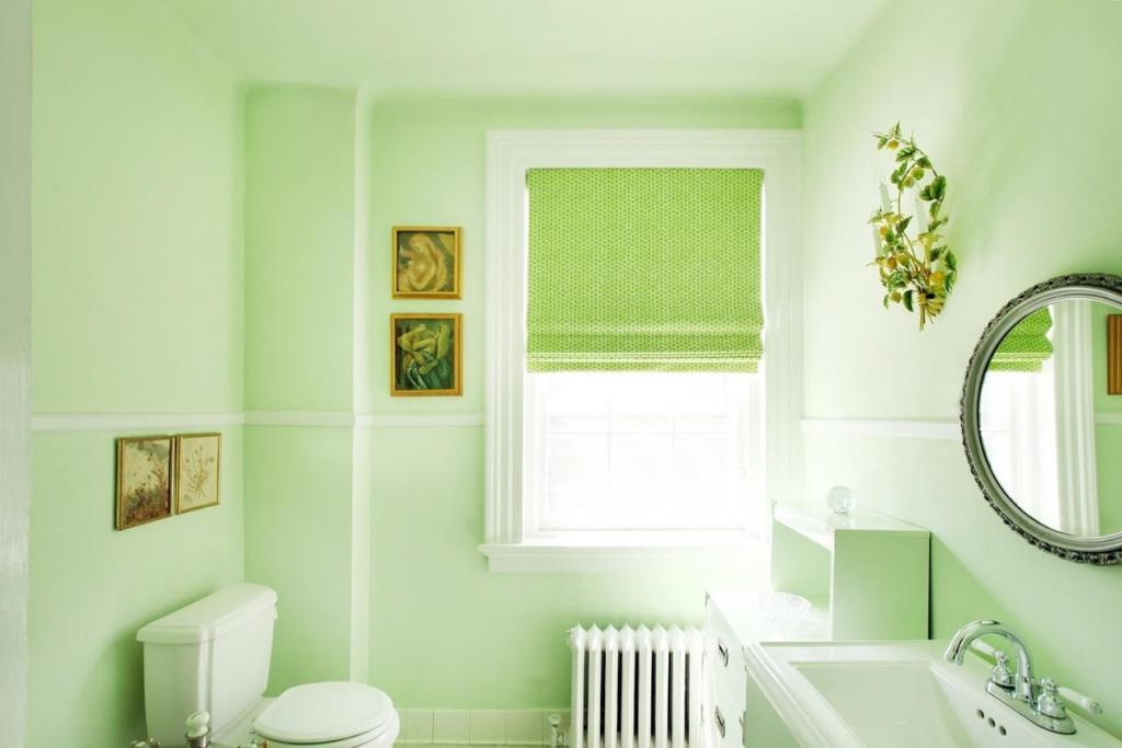 Зеленая мята, бирюза и еще 8 цветовых решений для вашей ванной комнаты от профессиональных дизайнеров интерьеров