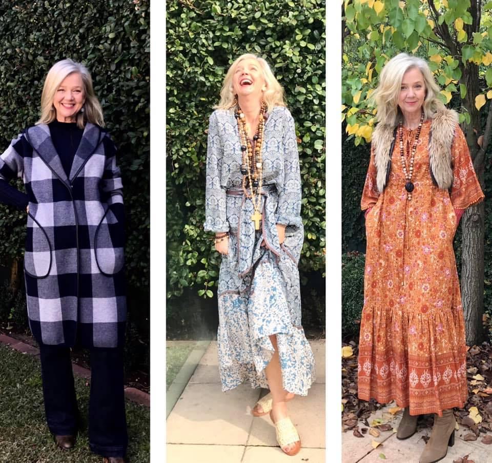 Стиль после 50: стилист Сара Лондон о богемном женственном образе в одежде и в жизни