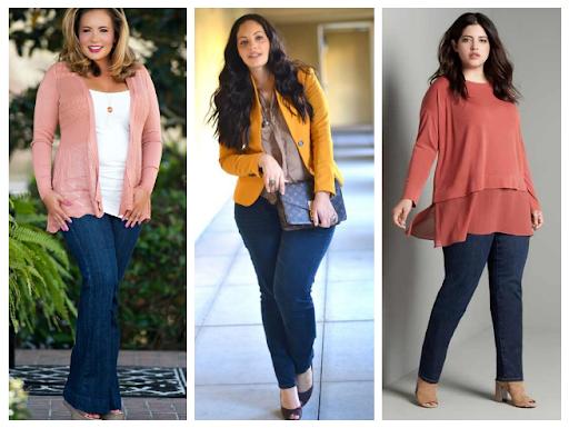 20 вещей стильного гардероба для полных дам