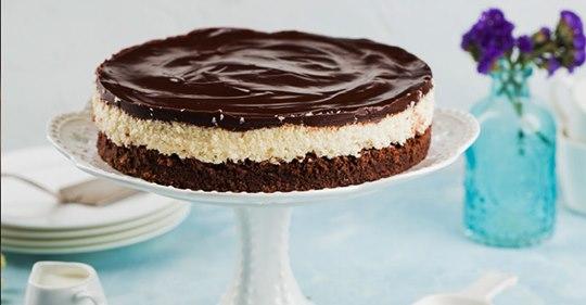 Нежный торт «Баунти»: готовим без желатина и выпечки