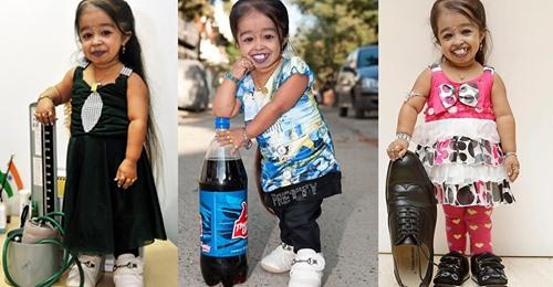 Самая маленькая девушка в мире, которая живет в Индии