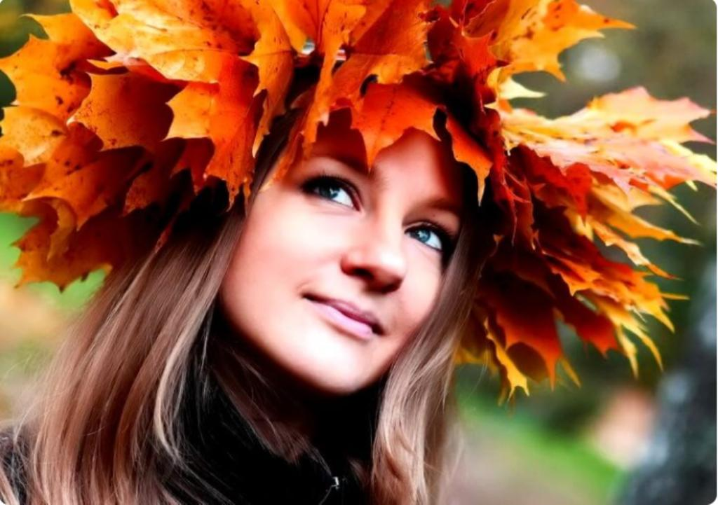 Люблю красоту осени. Чтобы сохранить ее подольше, делаю осенние украшения из листьев
