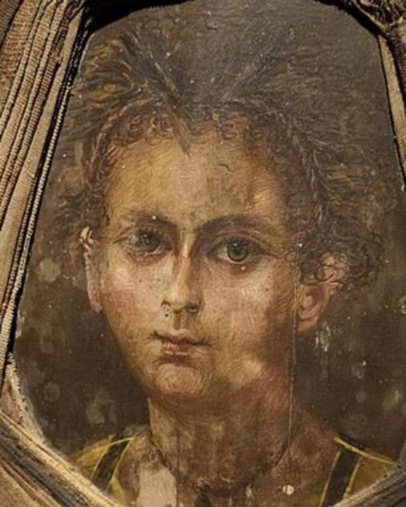Вот как выглядел ребенок из Древнего Египта: ученые с помощью сканера восстановили портрет мумии