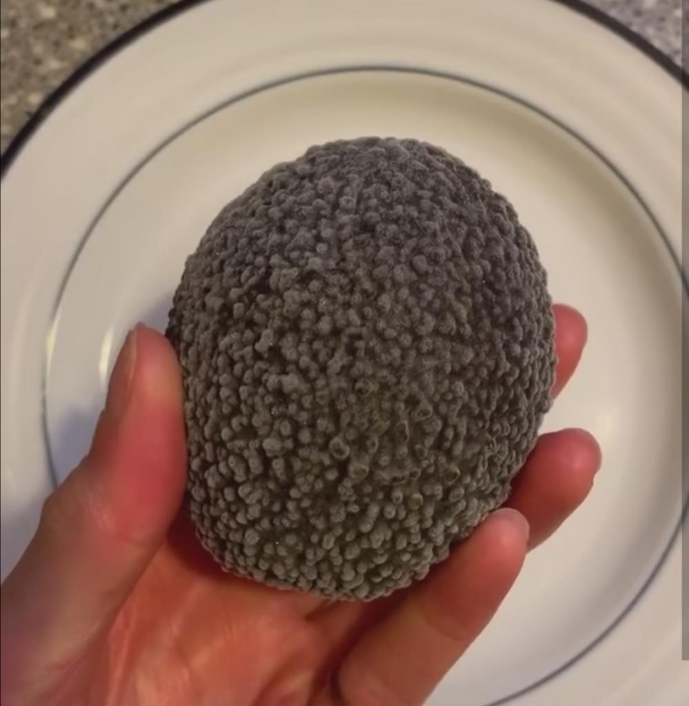 Оставила авокадо на 4 месяца в морозилке: полчаса под водой - и он снова свежий