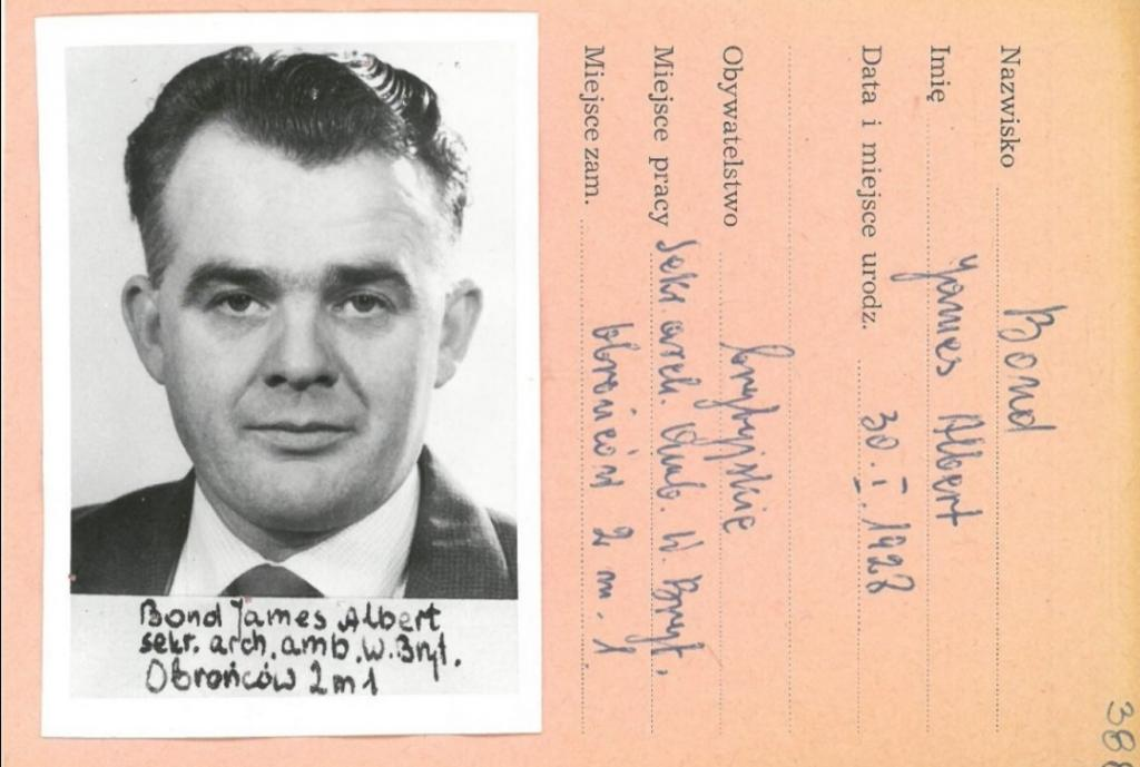 Найдены документы настоящего агента 007: как выглядел Джеймс Бонд британской разведки