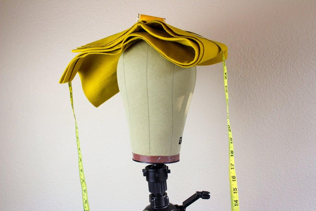 Желто-лимонный берет своими руками: модный головной убор для создания осеннего образа