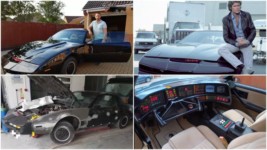 Парень превратил старый Pontiac в шикарный автомобиль из сериала «Рыцарь дорог», потратив на переделку  000