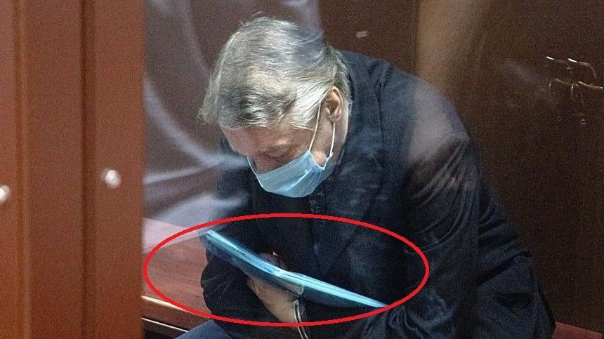 Что лежало в голубой папке Ефремова, которую он держал во время объявления приговора: мнение сестры актера