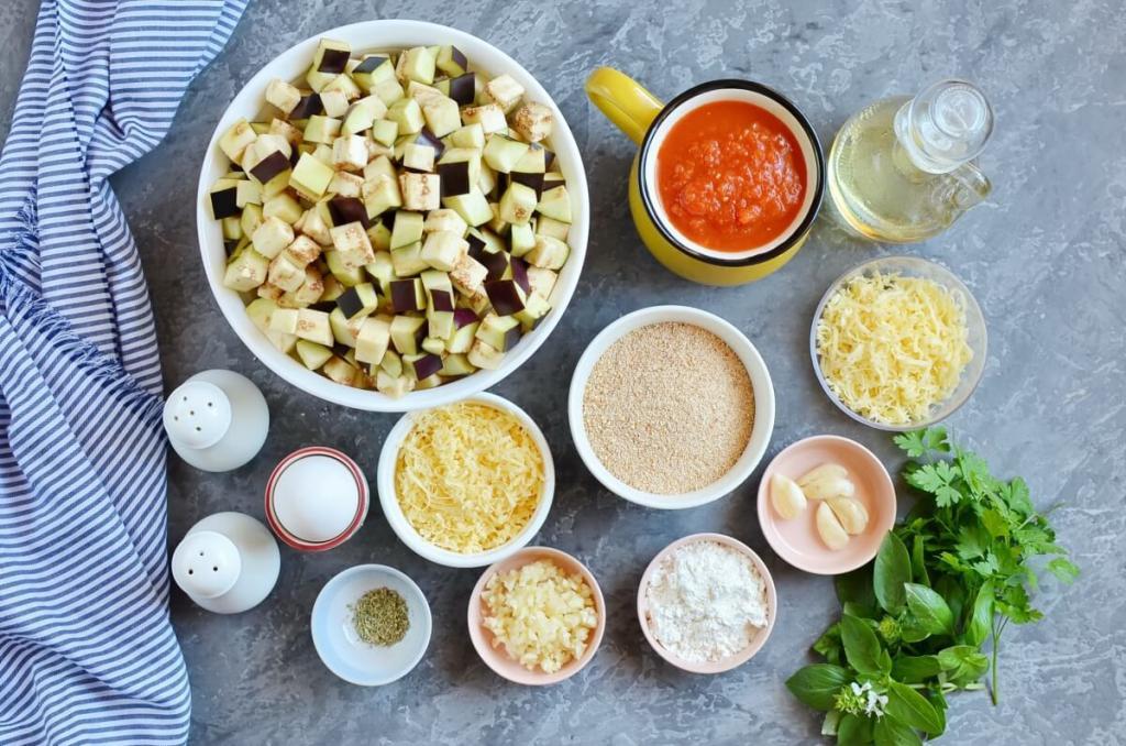 Фрикадельки из баклажанов с сыром и соусом без мяса за час в духовке: рецепт на шесть порций