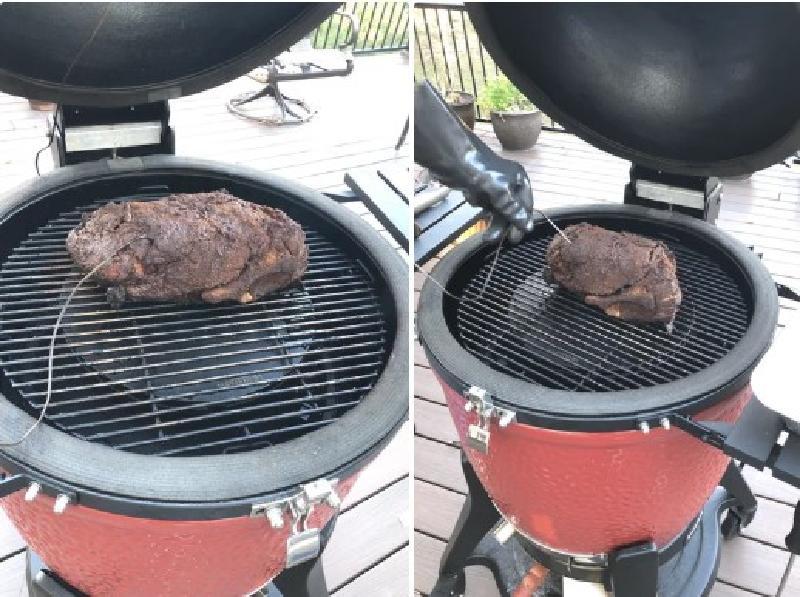 Креативная свиная лопатка с особым маринадом на гриле или в коптильне: отличный вариант для основы праздничного блюда