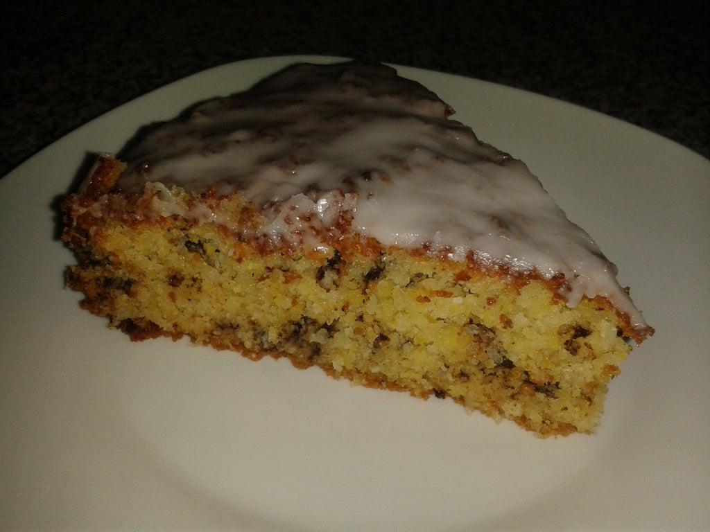 Кукурузная мука, кокос и шоколадная крошка: к чаю готовлю очень вкусный и сочный пирог