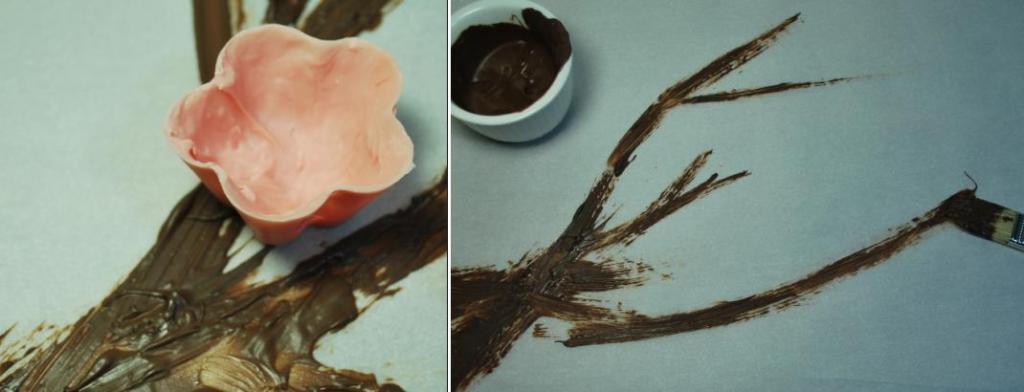 Хотите впечатлить гостей необычным десертом? Цветущая сакура из шоколада и вишневого мусса – эффектный десерт с потрясающим вкусом