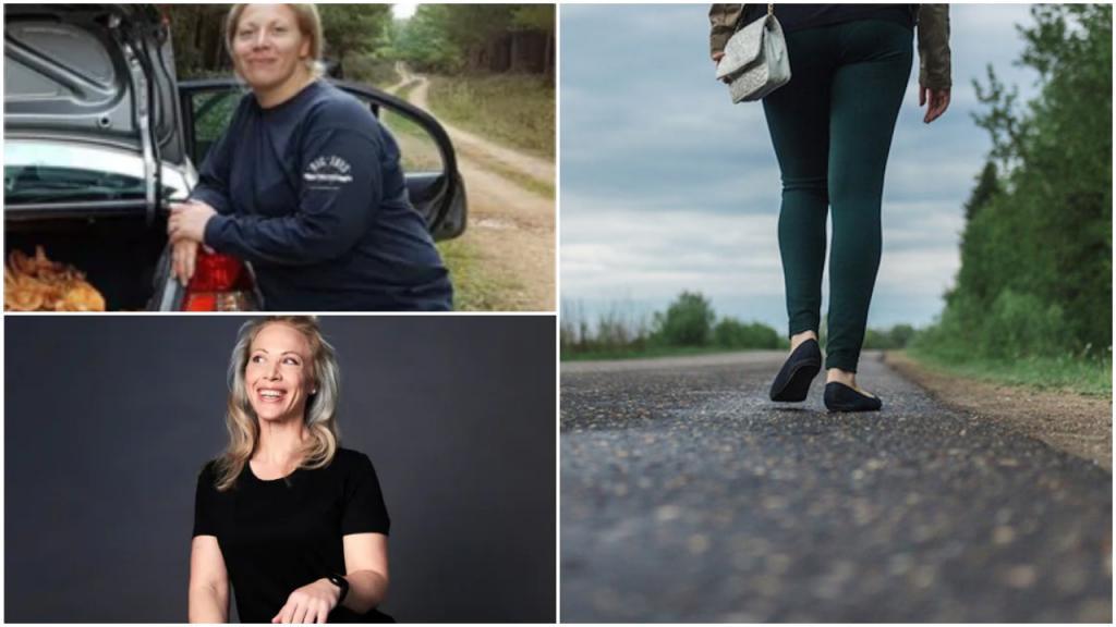 «Я хожу по 30 минут в день!»: девушка сбросила 34 кг за год, соблюдая простые правила диеты и выполняя физические упражнения