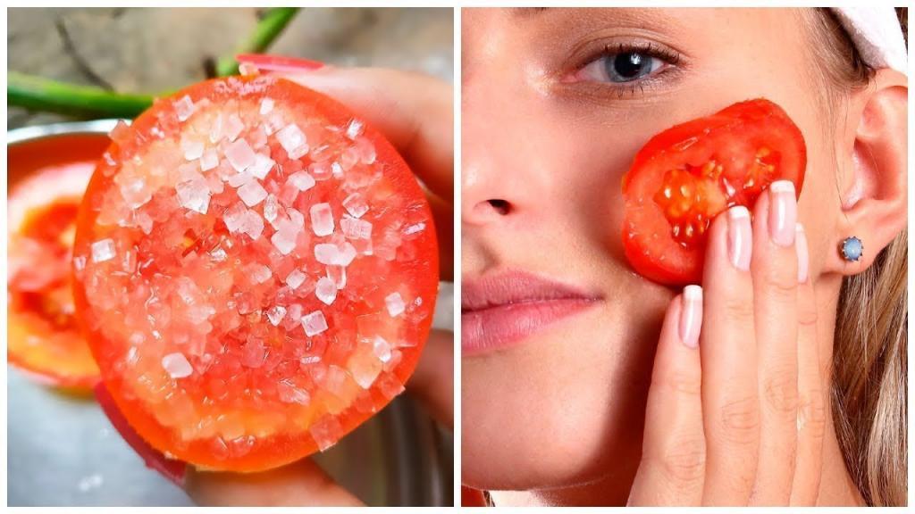 Помидор-пылесос: протирание томатом лица поможет оставаться красивой