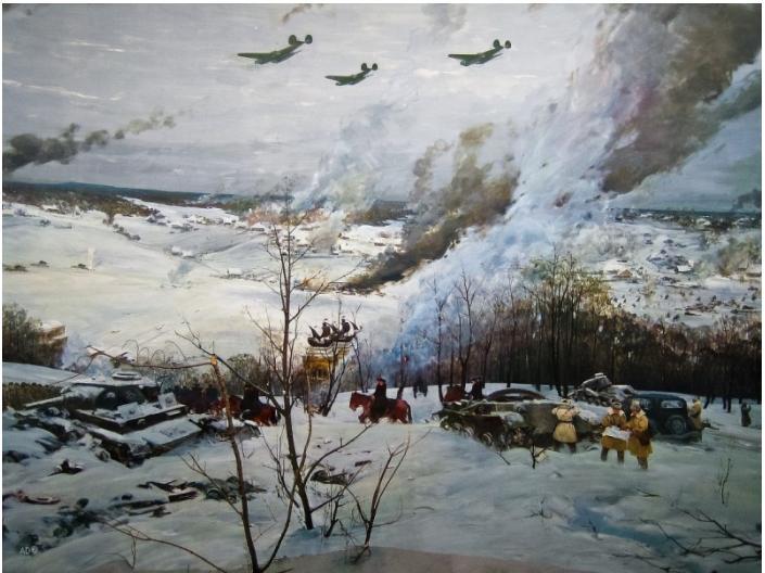 В дедушкином военном дневнике нашла запись: Сентябрь 1941 года - время тяжелейших испытаний для СССР. Какой была первая осень минувшей войны