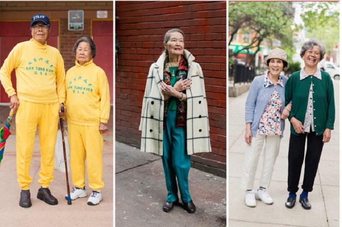 Пожилые модники с китайского квартала США: фото пенсионеров в ярких образах