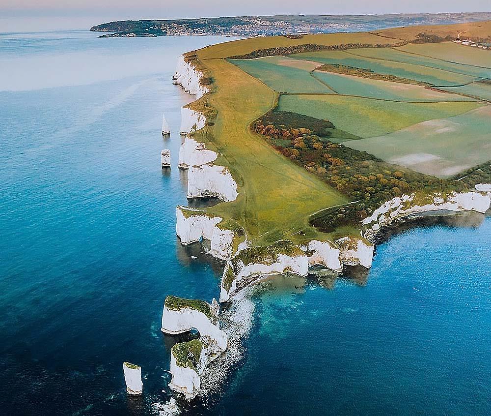 Невероятные снимки Уэльса, сделанные с высоты птичьего полета с помощью дрона (фото)