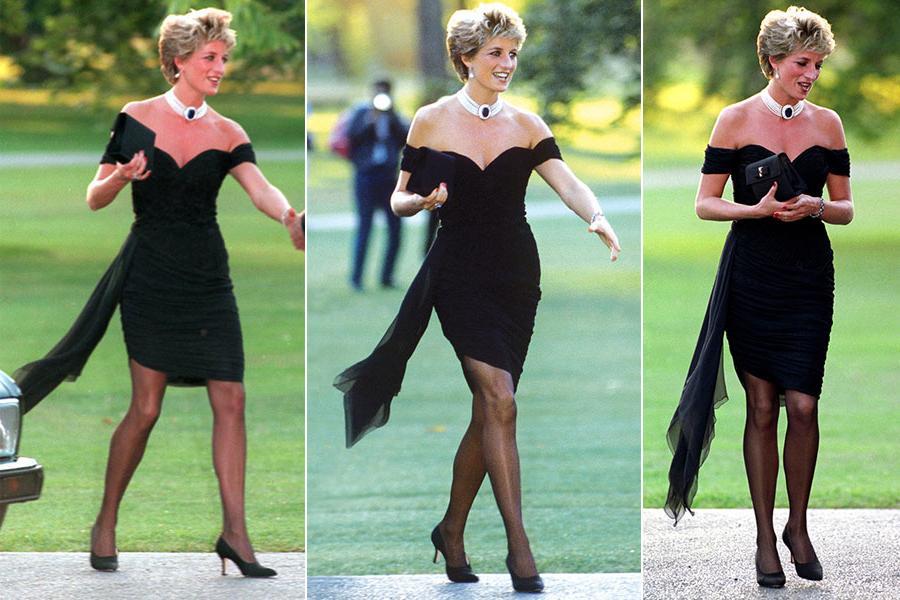 Что надеть, чтобы бывший не смог отвести глаз: платье в стиле леди Дианы — безошибочный вариант
