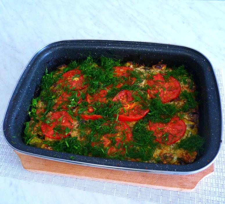 Запеченные кабачки с йогуртом: простой рецепт нежного блюда без добавления яиц