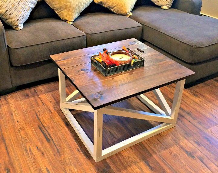 Искала журнальный столик с простым, но интересным дизайном. А потом сама сделала его из дерева: сэкономила и получила идеальный вариант