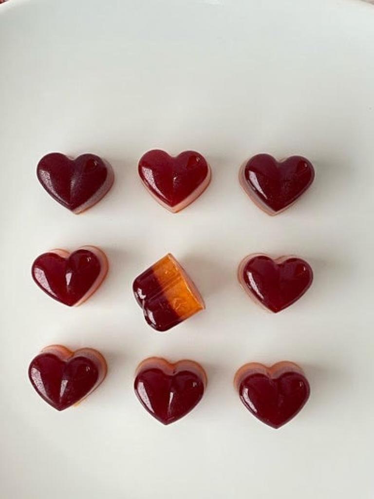 Глинтвейн в форме сердечек: порадуйте свою вторую половинку необычным десертом