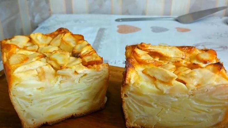 При выпечке тесто в яблочном пироге превращается в крем: я называю его волшебным