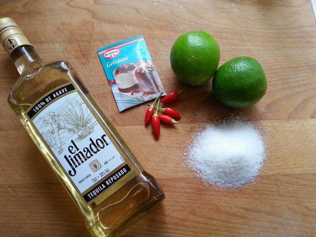 Интересный рецепт для любителей необычных сладостей: готовим желе со вкусом текилы и лаймового сока