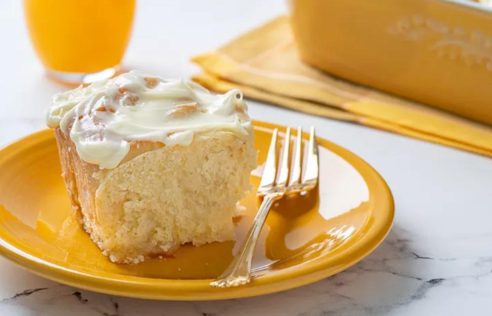 Какая же вкуснятина получилась! Испекла на завтрак нежные апельсиновые булочки